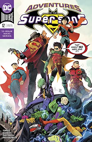 Adventures of the Super Sons (2018-2019) No.12