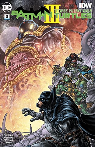 Batman/Teenage Mutant Ninja Turtles III (2019-) #3