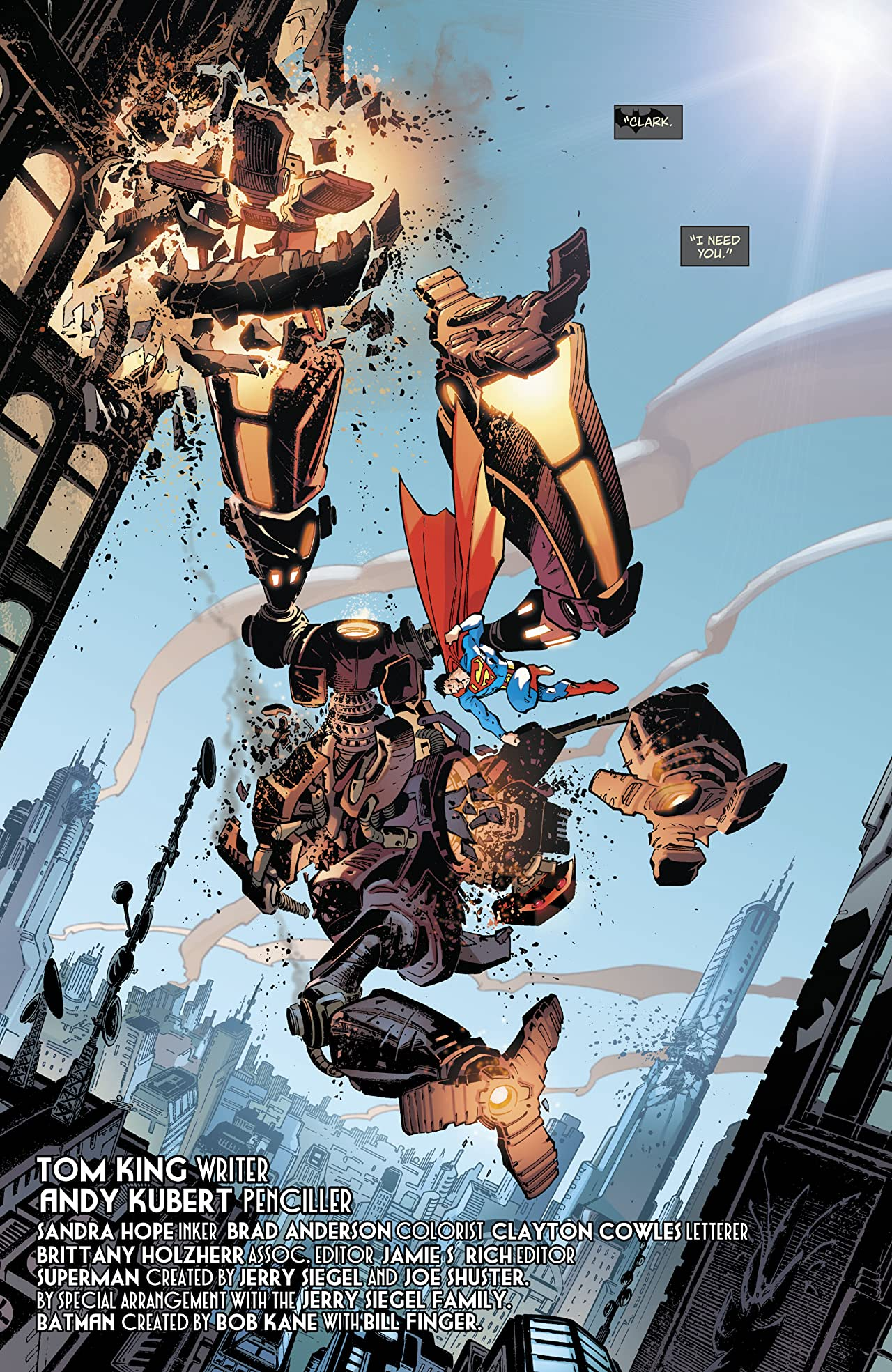 Superman: Up in the Sky (2019-) #1