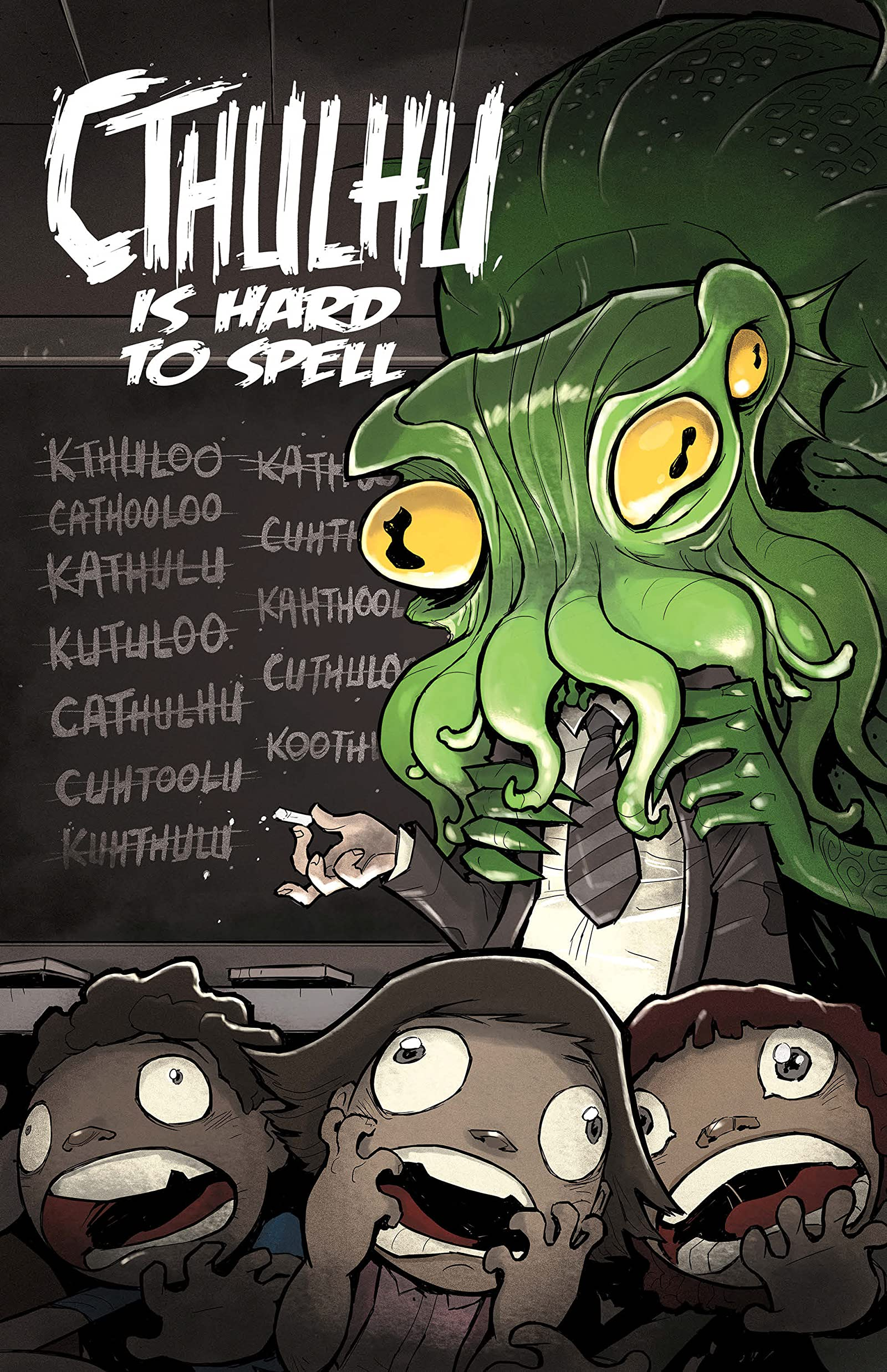 Cthulhu is Hard to Spell - Comics by comiXology