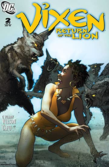 Vixen: Return of the Lion #2 (of 5)