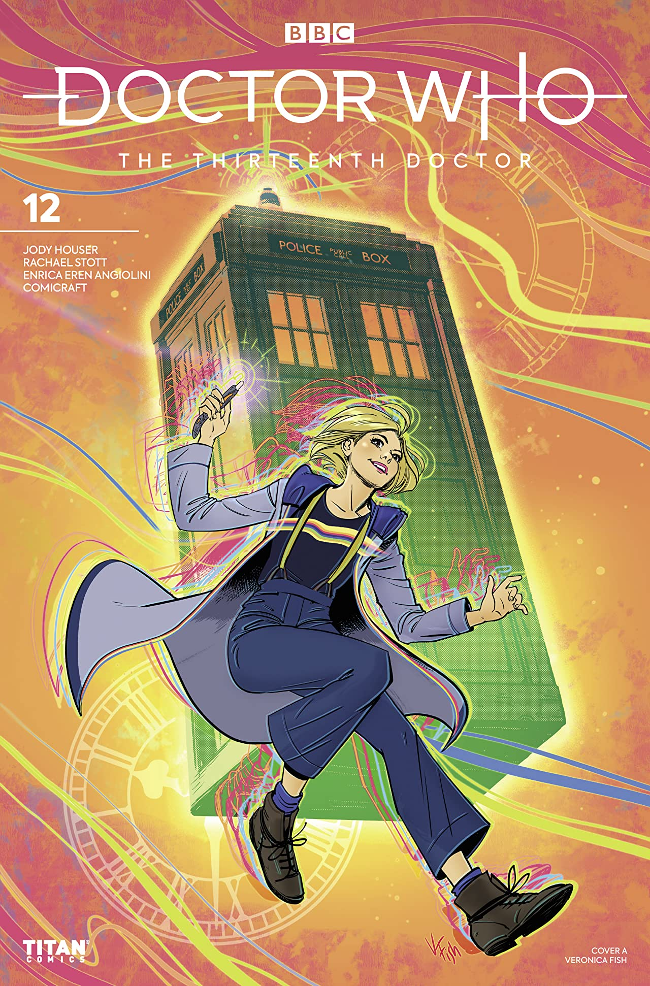 Doctor Who: The Thirteenth Doctor No.12
