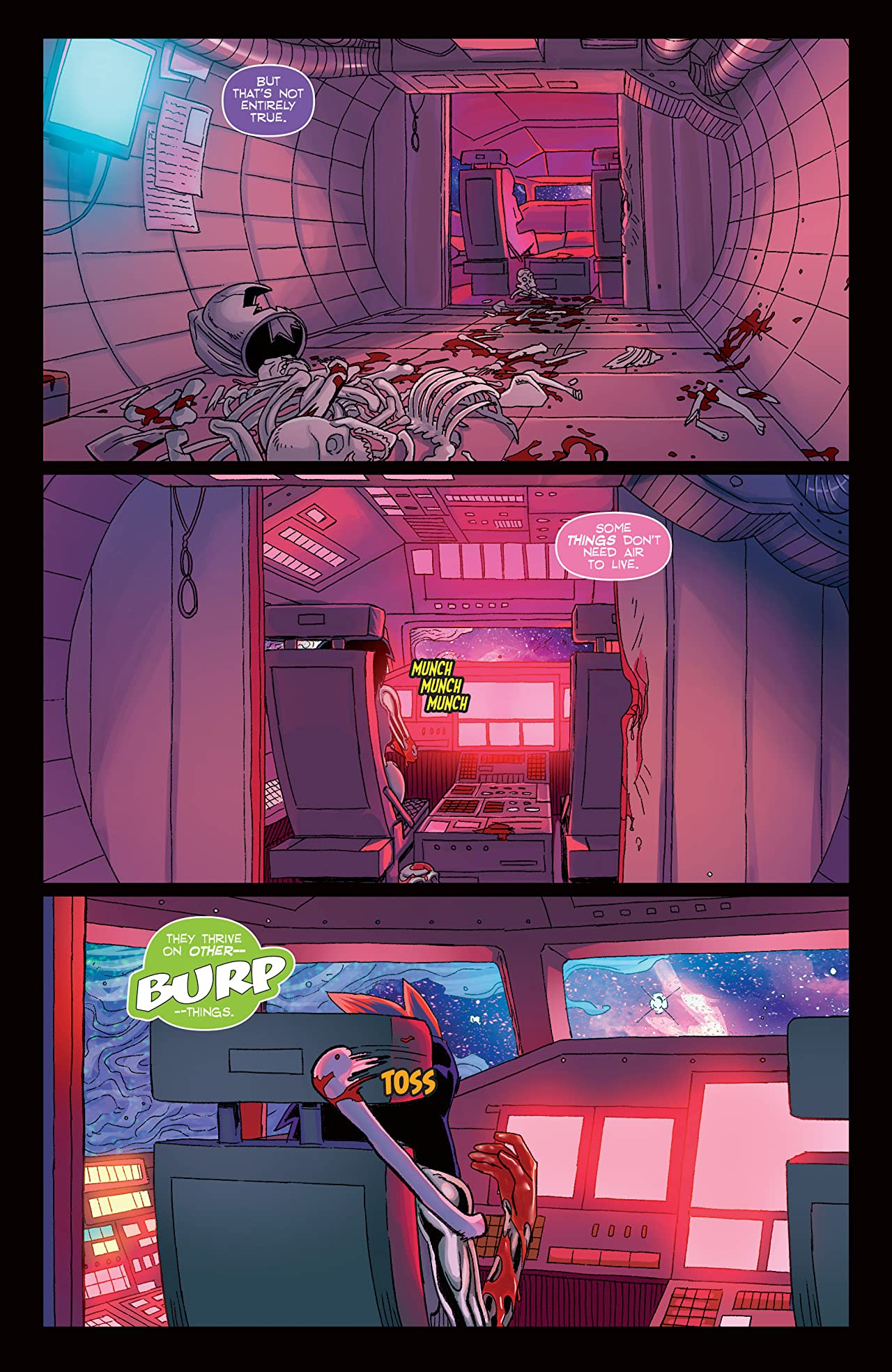 Amalgama: Space Zombie #1