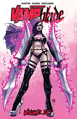 Vampblade Vol. 10: Back In Black