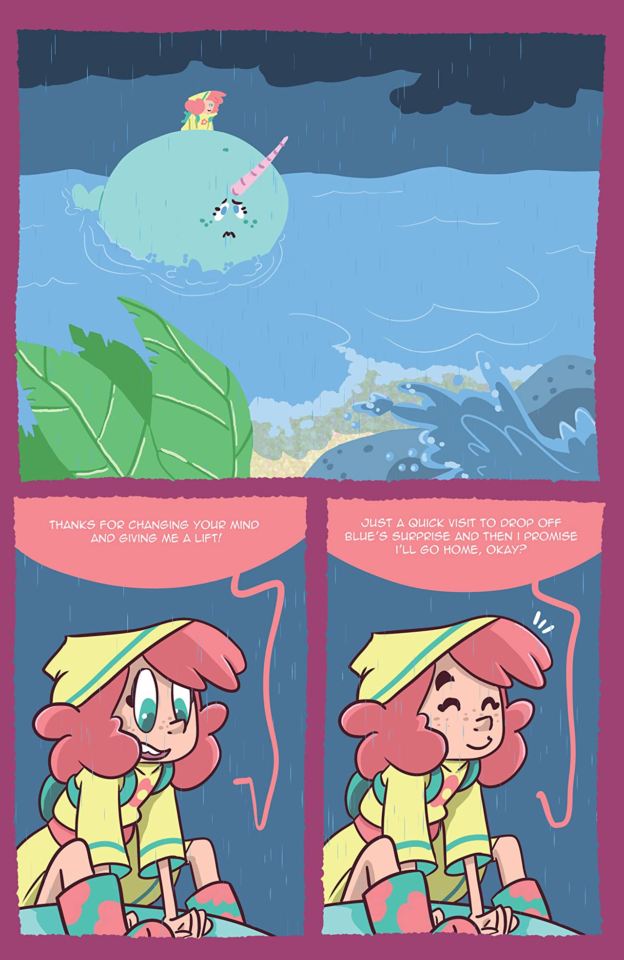 SeaFoam: A Friend for Madison #4
