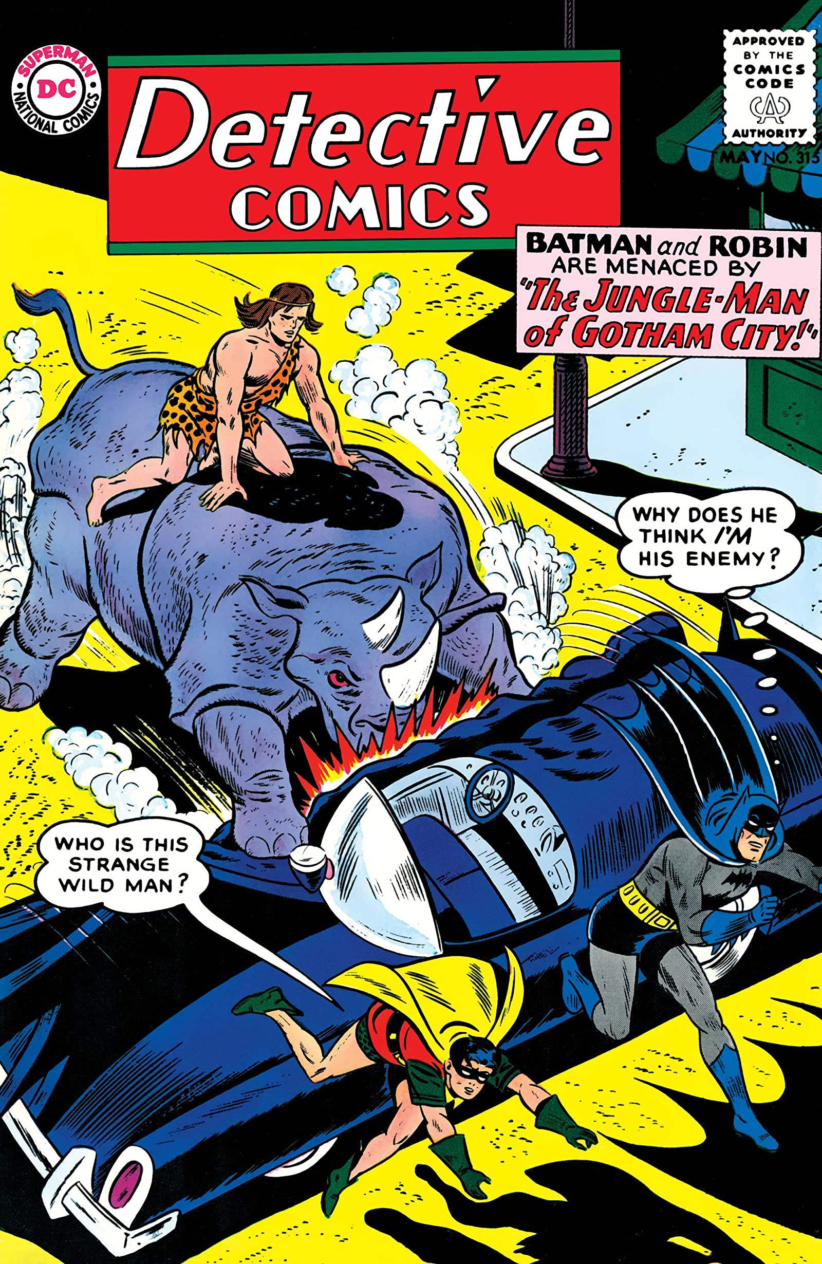 Detective Comics (1937-2011) #315 - Comics by comiXology