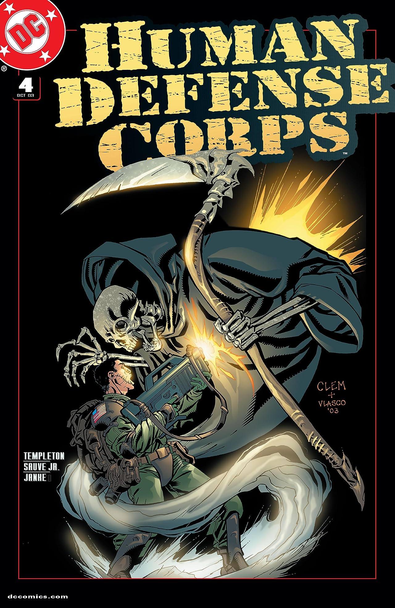 Human Defense Corps. (2003) #4