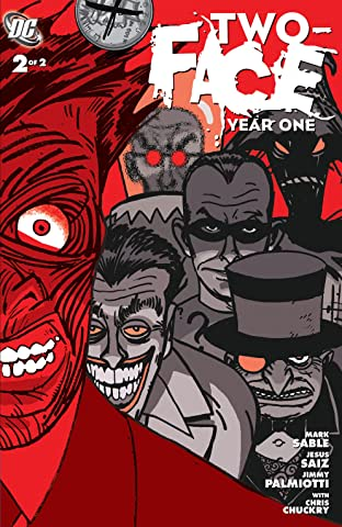 Two-Face: Year One (2008) No.2
