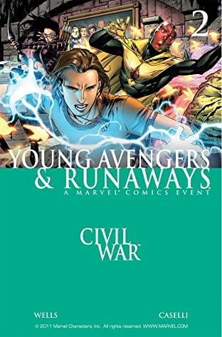 Civil War: Young Avengers & Runaways No.2 (sur 4)