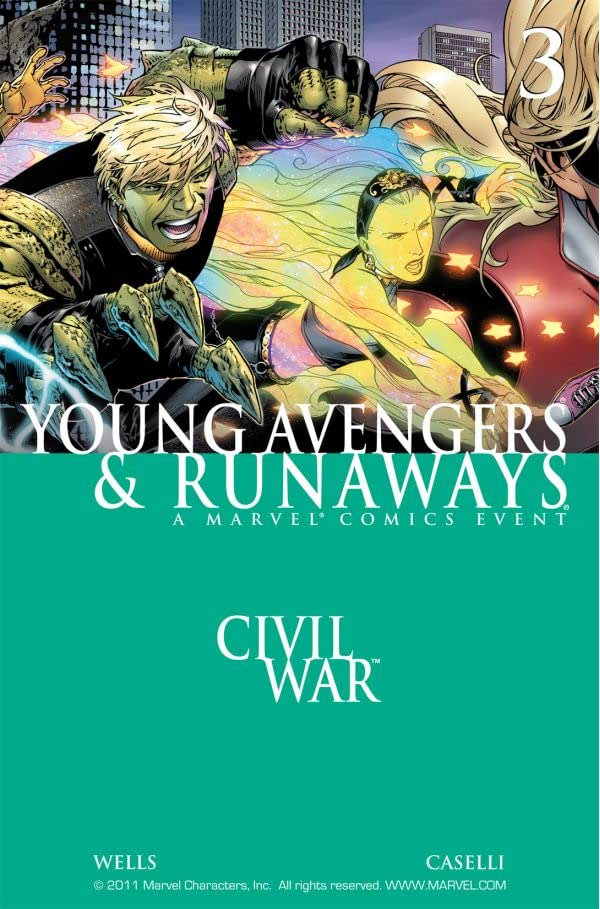 Civil War: Young Avengers & Runaways #3 (of 4)