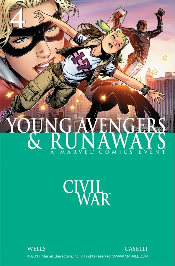 Civil War: Young Avengers & Runaways No.4 (sur 4)