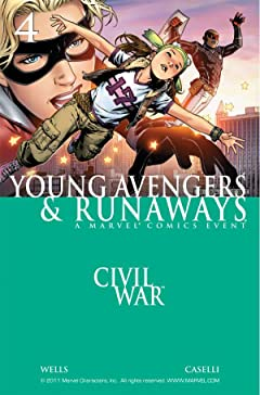 Civil War: Young Avengers & Runaways #4 (of 4)