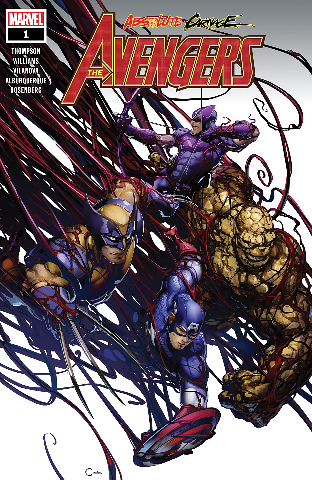 Absolute Carnage: Avengers (2019) No.1