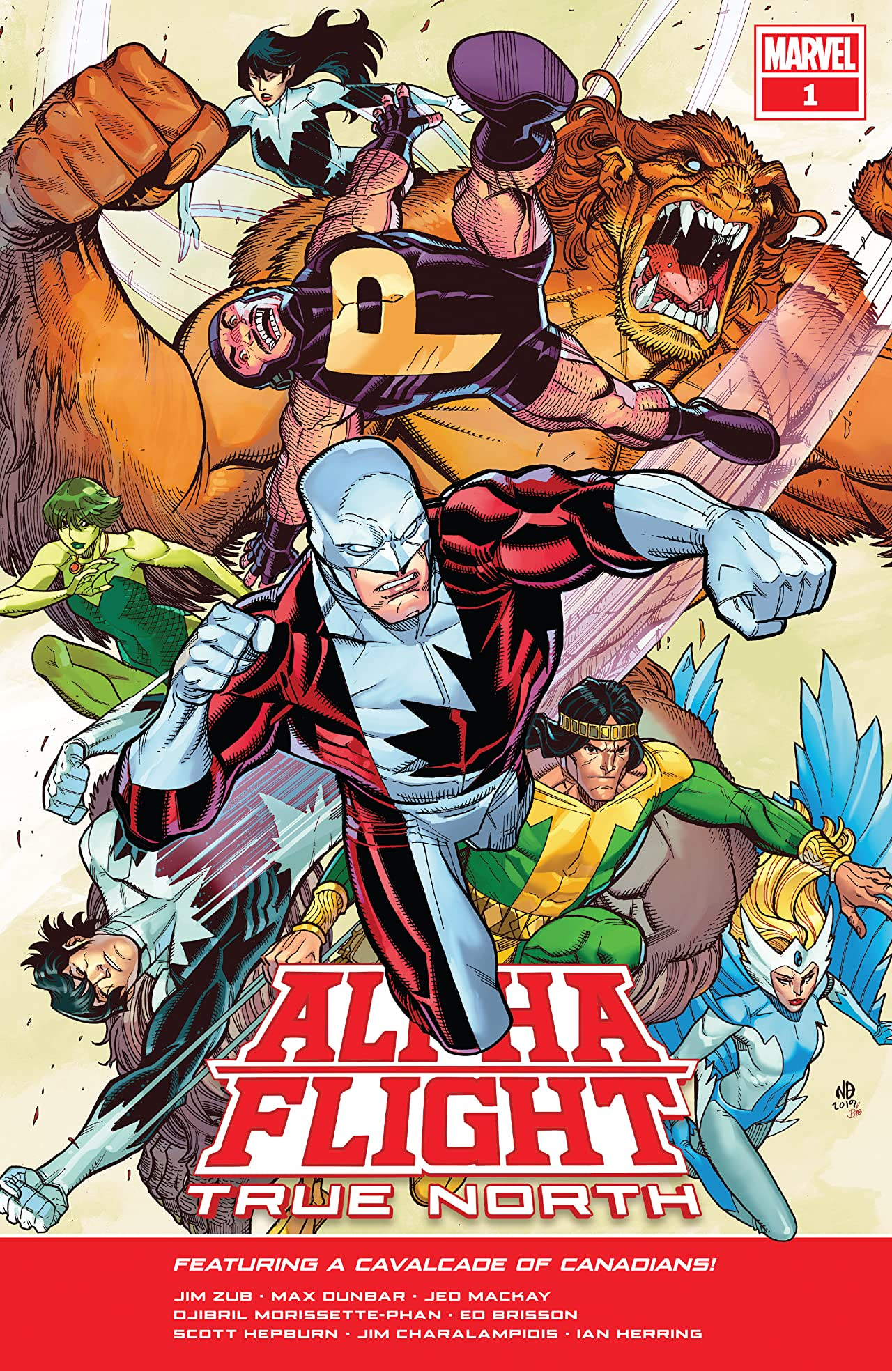 Alpha Flight: True North (2019) No.1