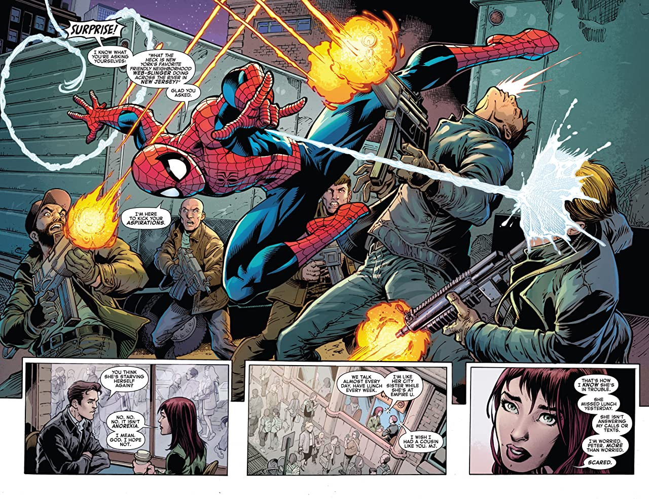 Amazing Spider-Man: Going Big (2019) #1
