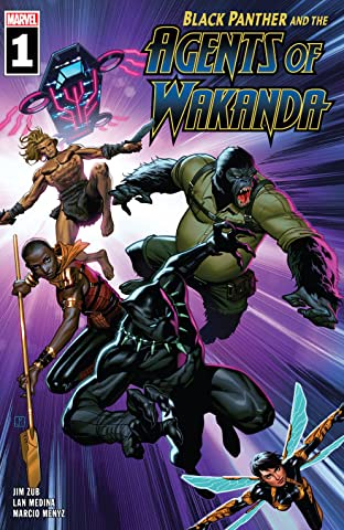 Black Panther And The Agents Of Wakanda (2019-) No.1