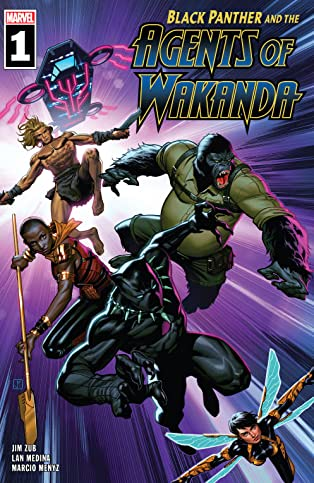 Black Panther And The Agents Of Wakanda (2019-) #1