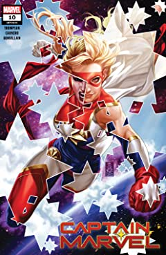 Captain Marvel (2019-) #10
