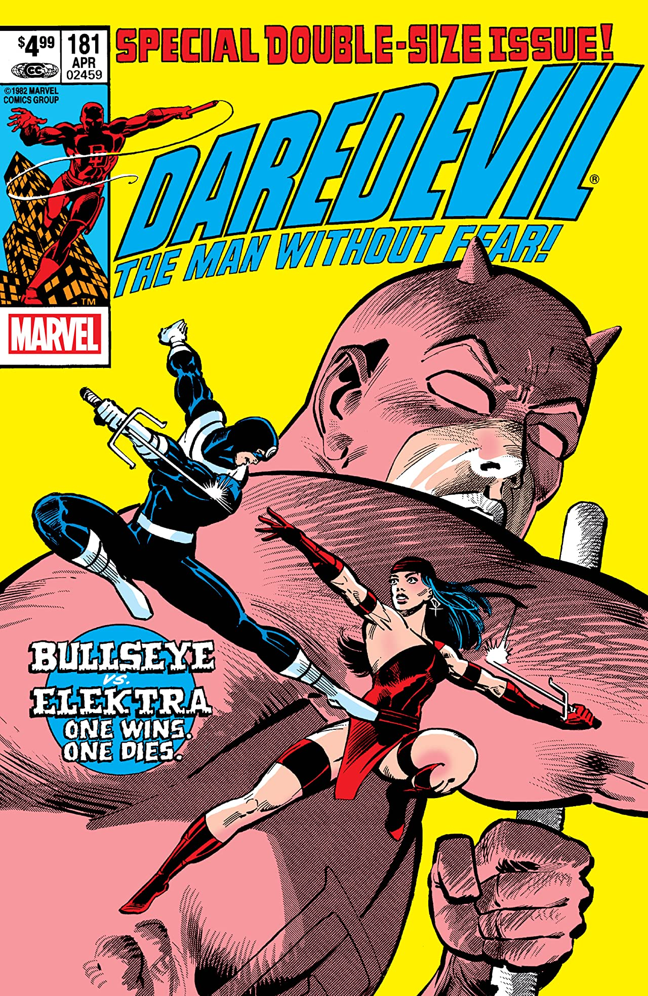 Daredevil (1964-1998) No.181: Facsimile Edition