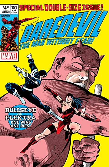 Daredevil (1964-1998) #181: Facsimile Edition