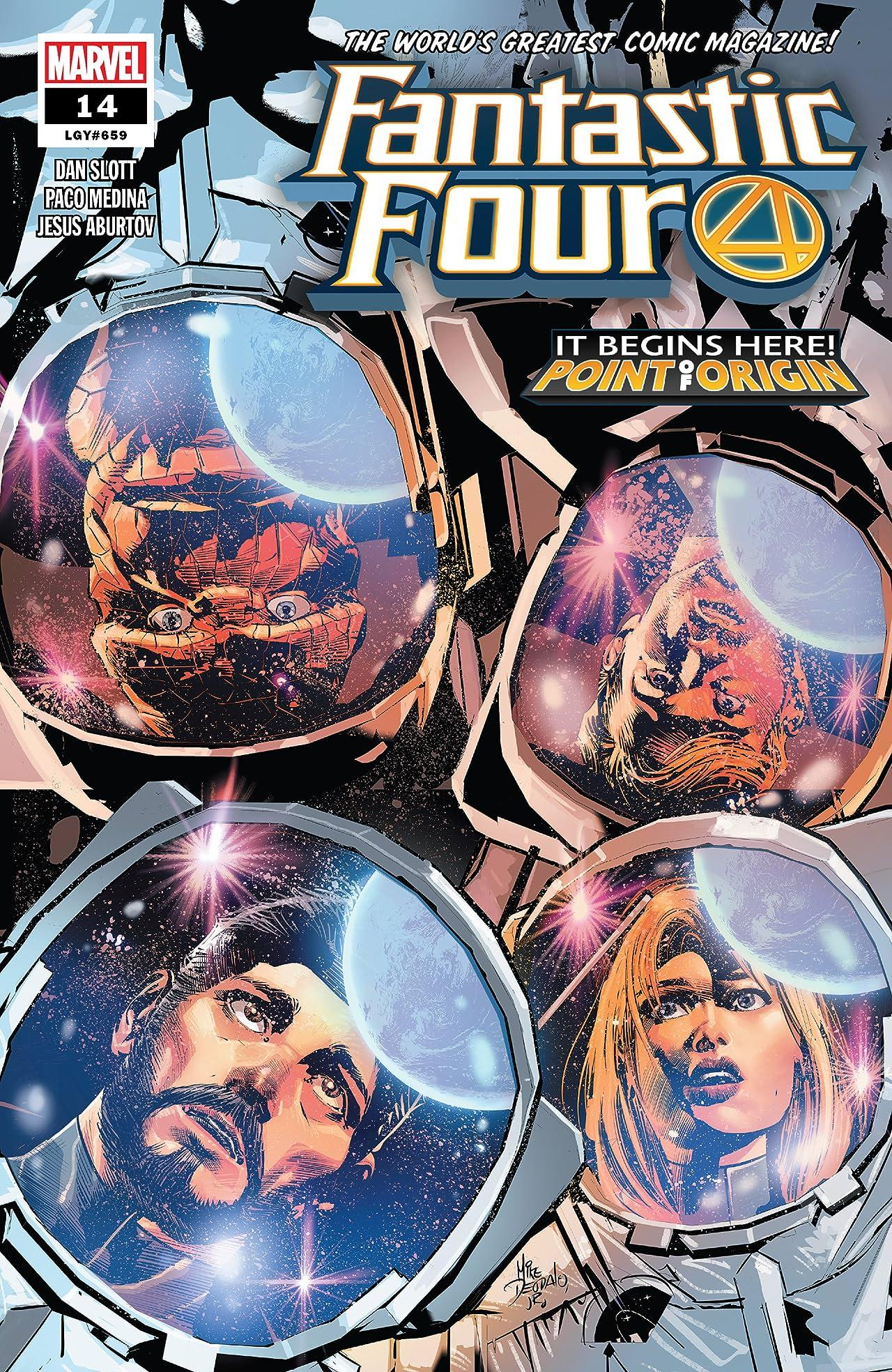 Fantastic Four (2018-) #14
