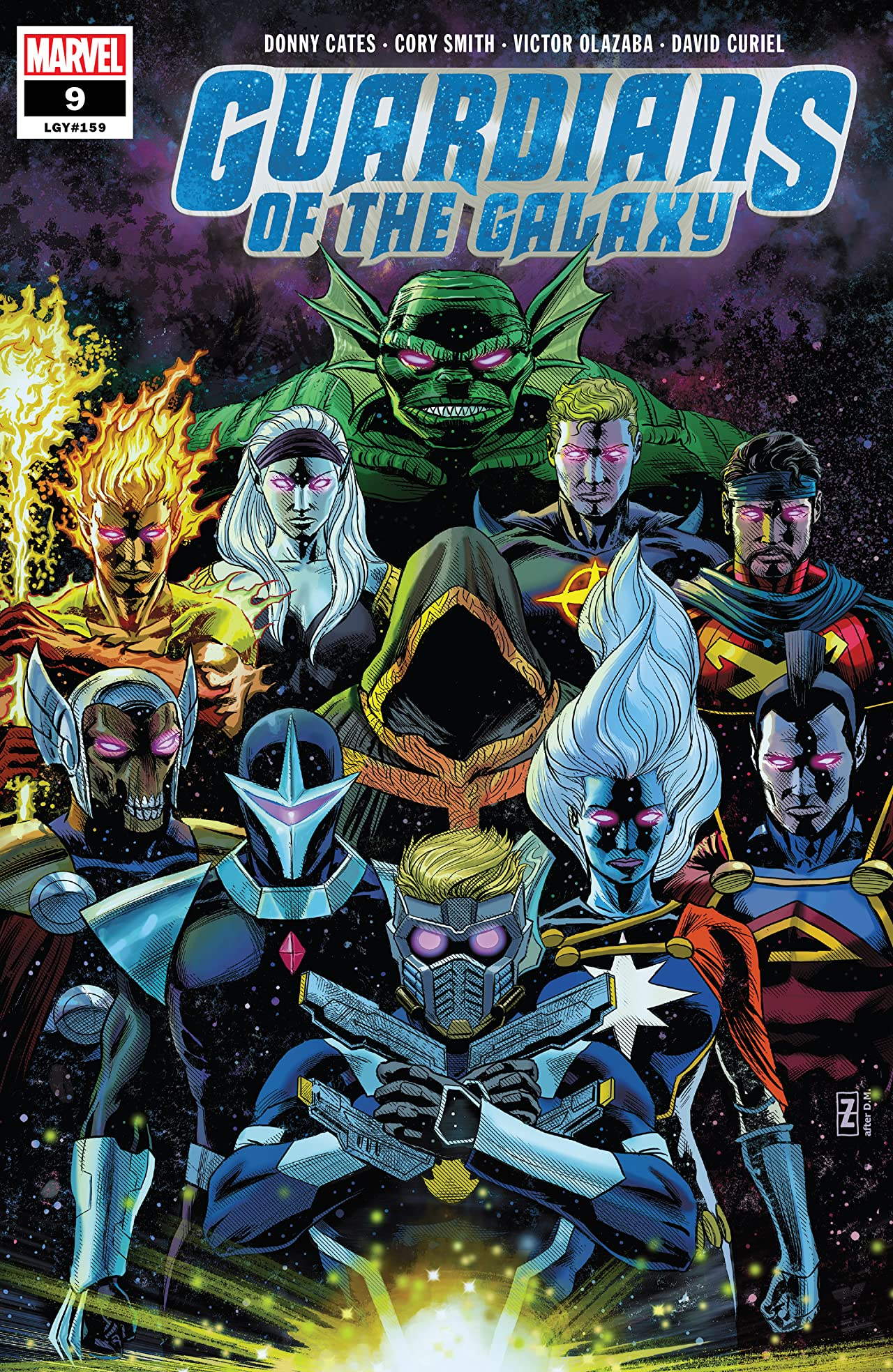 Guardians of the Galaxy (2019) No.9