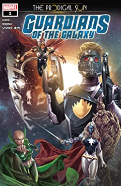 Guardians Of The Galaxy: The Prodigal Sun (2019) No.1