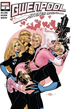 Gwenpool Strikes Back (2019-) #2 (of 5)