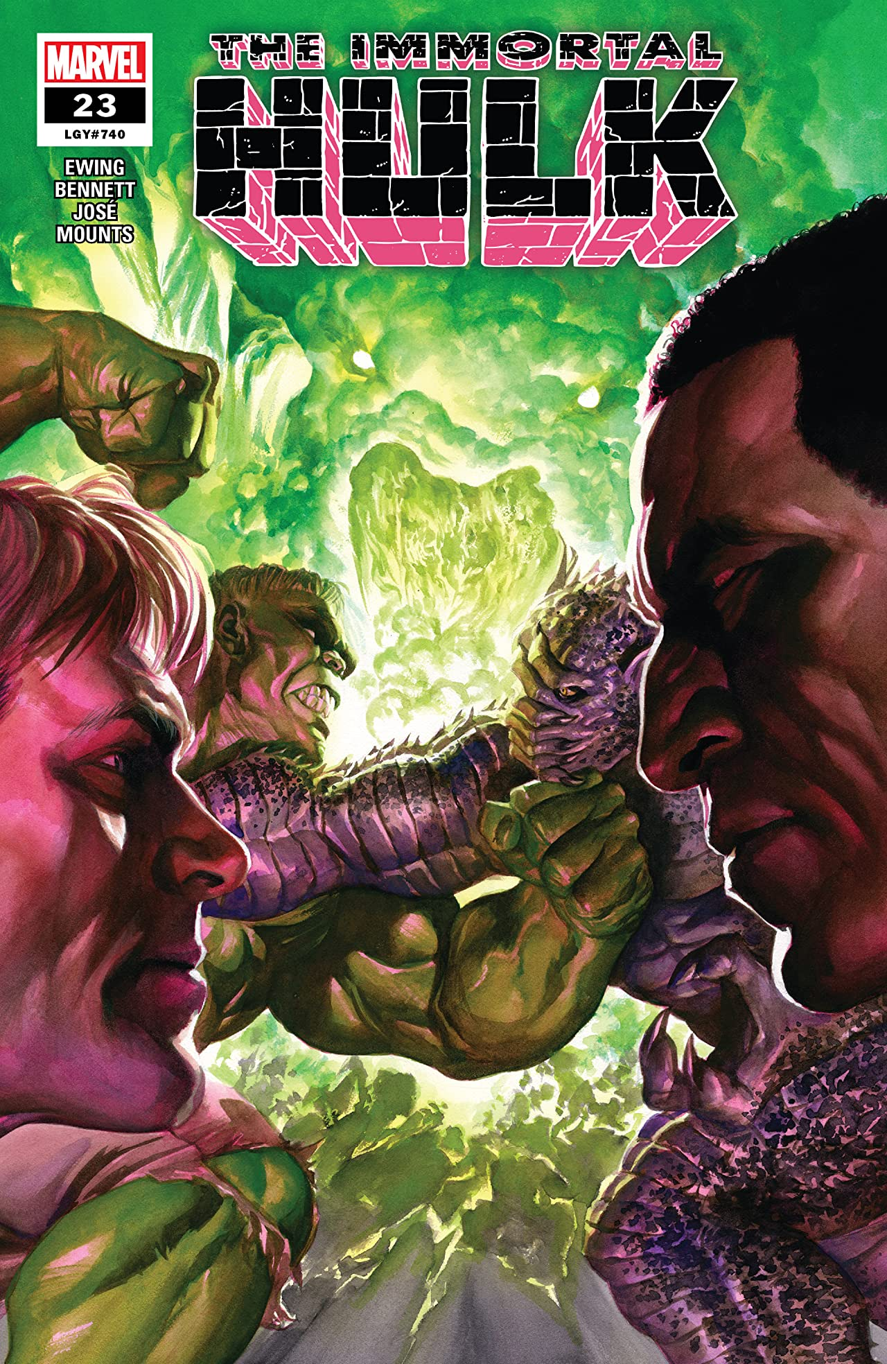 Immortal Hulk (2018-) No.23
