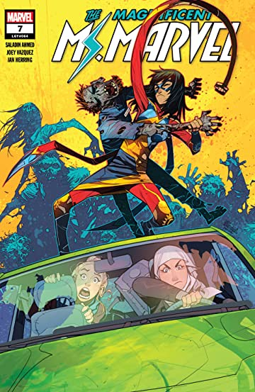 Magnificent Ms. Marvel (2019-) No.7