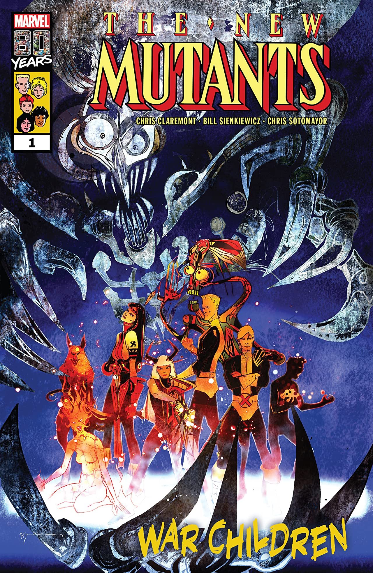 New Mutants: War Children (2019) No.1