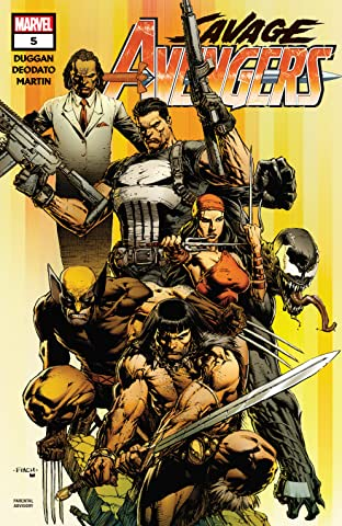 Savage Avengers (2019-) No.5