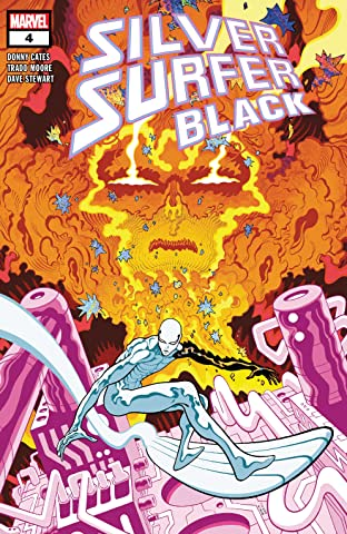 Silver Surfer: Black (2019) No.4 (sur 5)