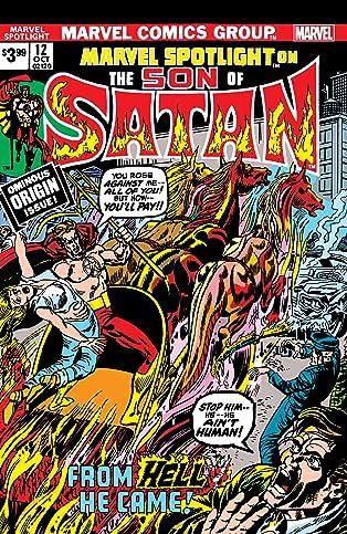 Son Of Satan: Marvel Spotlight (1971-1977) #12: Facsimile Edition