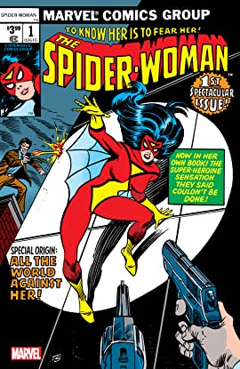 Spider-Woman (1978-1983) #1: Facsimile Edition