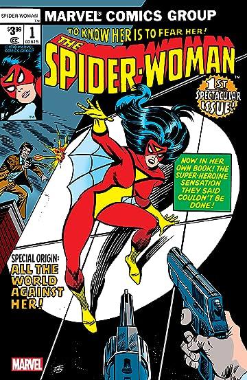 Spider-Woman (1978-1983) #1: Facsimile Edition