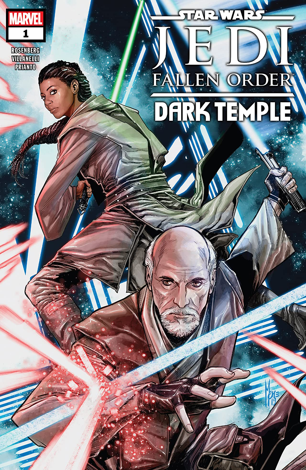 Star Wars: Jedi Fallen Order–Dark Temple (2019-) No.1 (sur 5)