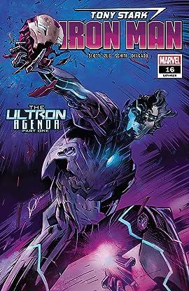 Tony Stark: Iron Man (2018-2019) #16