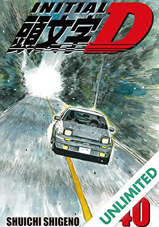 Initial D (comiXology Originals) Vol. 40