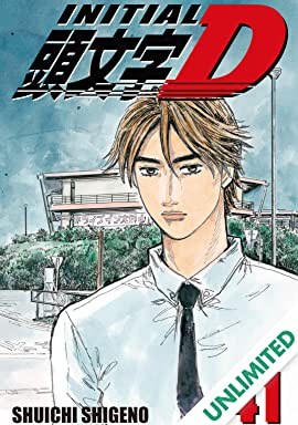 Initial D (comiXology Originals) Vol. 41