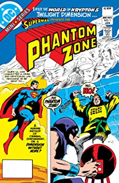 Superman Presents The Phantom Zone (1982) No.1