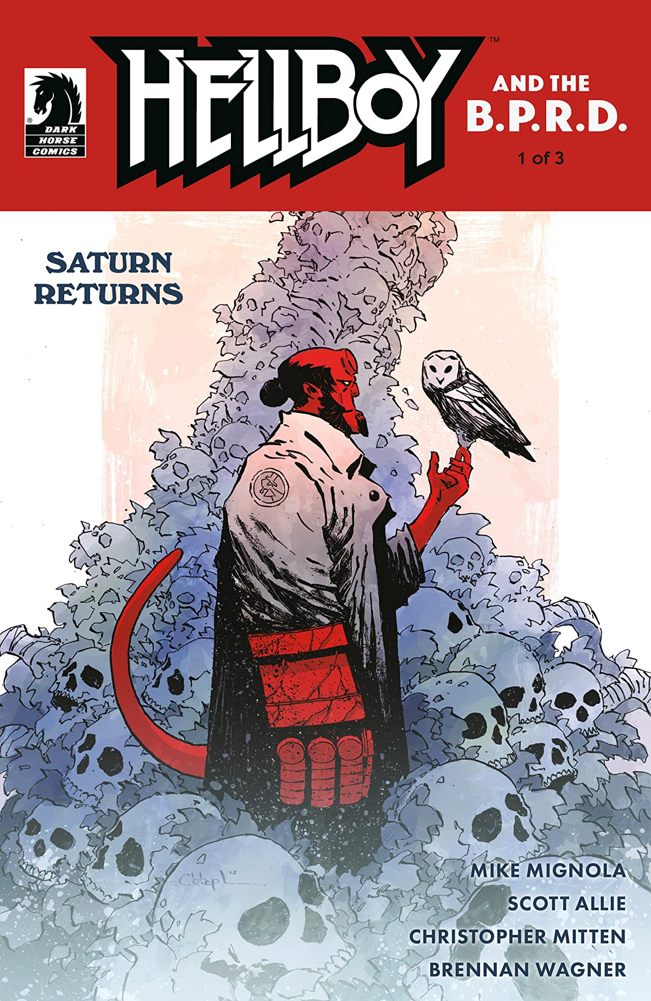 Hellboy and the B.P.R.D.: Saturn Returns  No.1