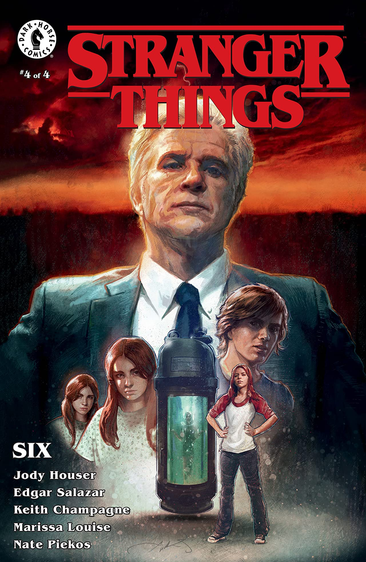 Stranger Things: SIX  No.4