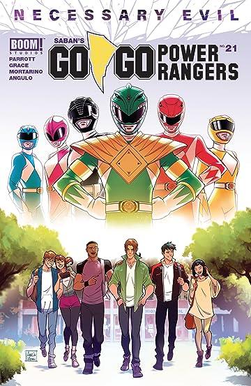Saban's Go Go Power Rangers No.21