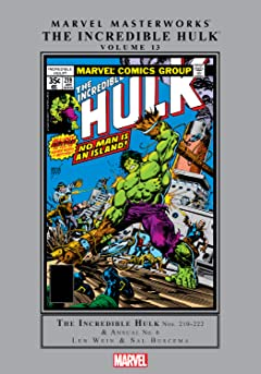 Incredible Hulk Masterworks Vol. 13