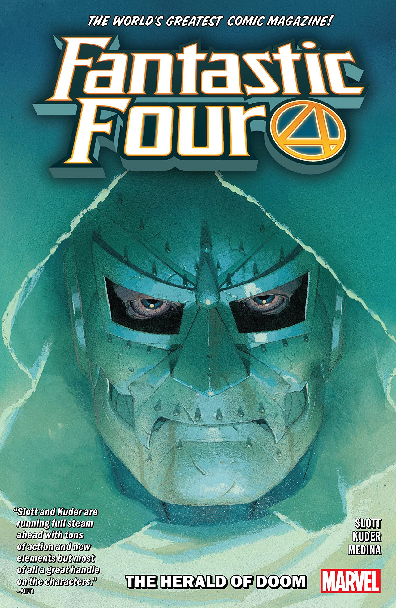 Fantastic Four Tome 3: The Herald Of Doom