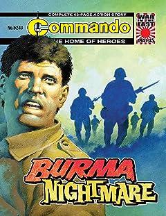 Commando #5243: Burma Nightmare