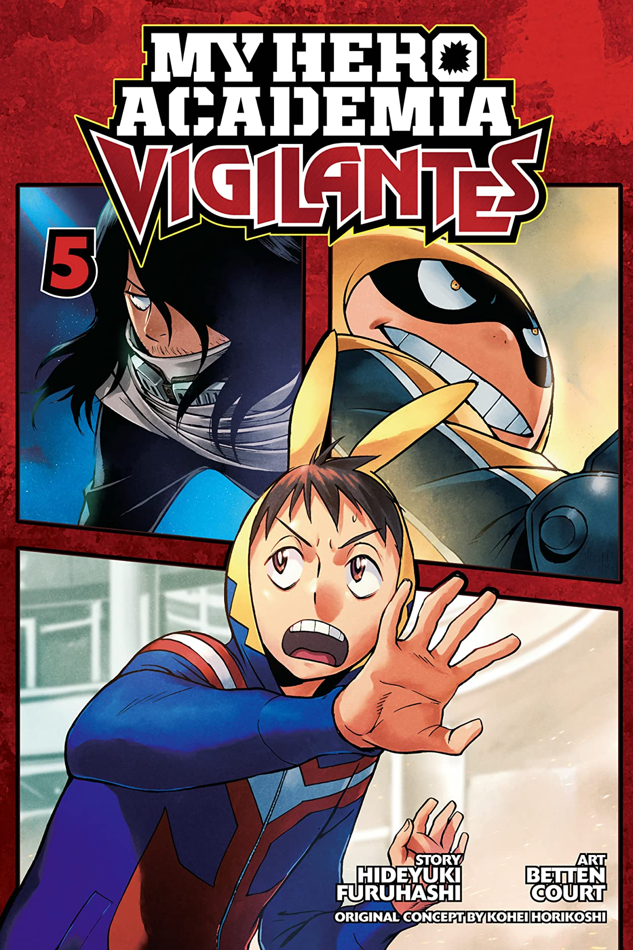 My Hero Academia: Vigilantes Vol. 5