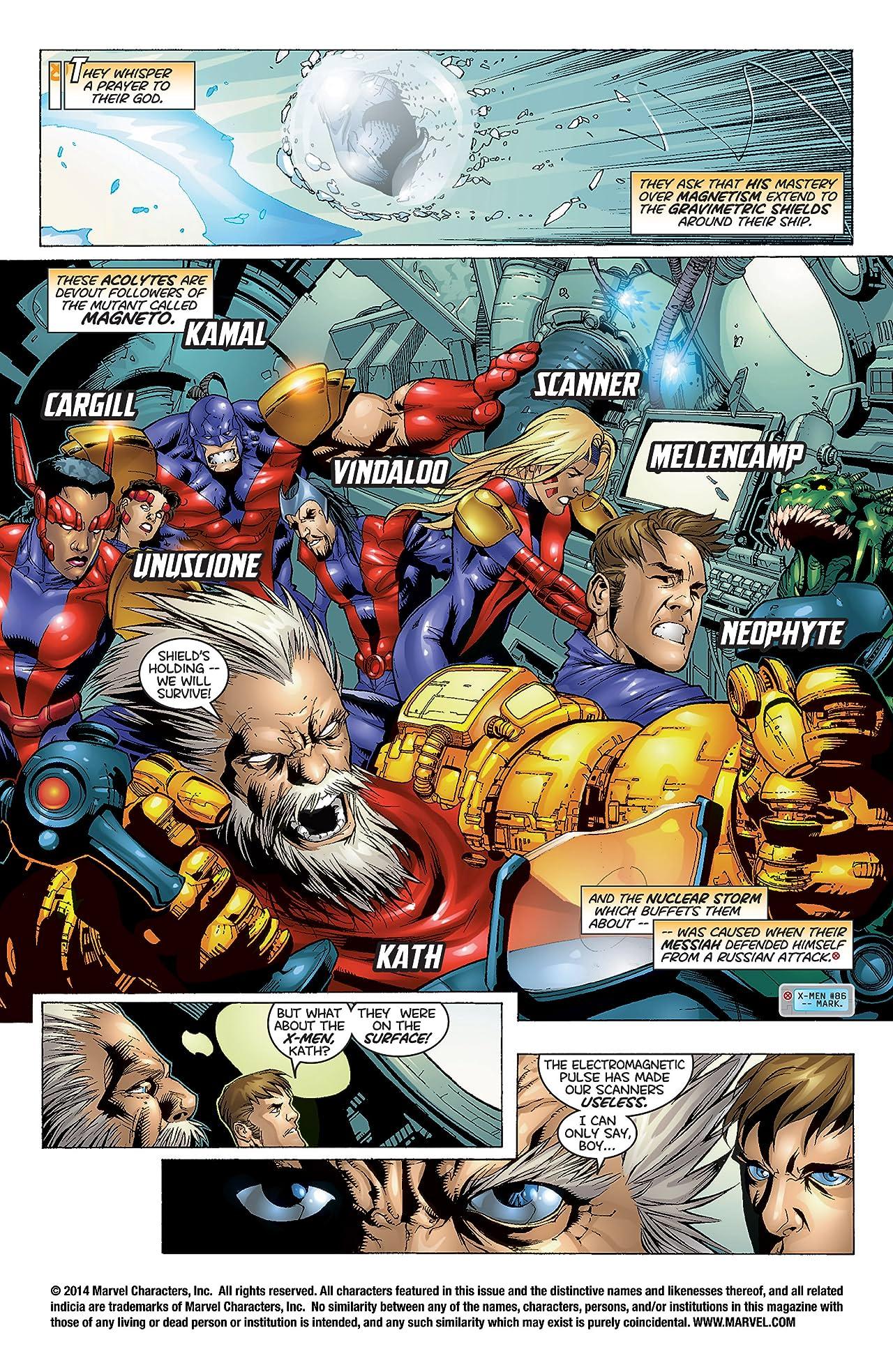 Uncanny X-Men (1963-2011) #367