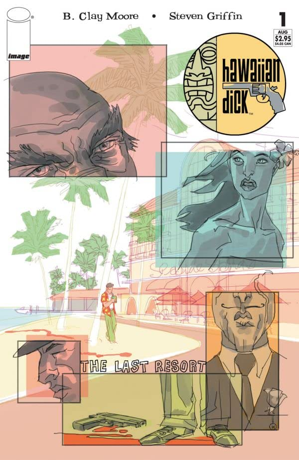 Hawaiian Dick: The Last Resort #1 (of 4)